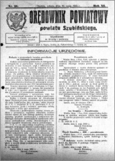 Orędownik Powiatowy powiatu Szubińskiego 1930.05.10 R.11 nr 38