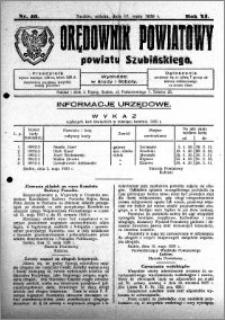 Orędownik Powiatowy powiatu Szubińskiego 1930.05.17 R.11 nr 40