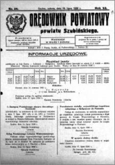 Orędownik Powiatowy powiatu Szubińskiego 1930.07.19 R.11 nr 58