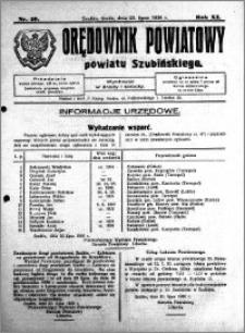 Orędownik Powiatowy powiatu Szubińskiego 1930.07.23 R.11 nr 59