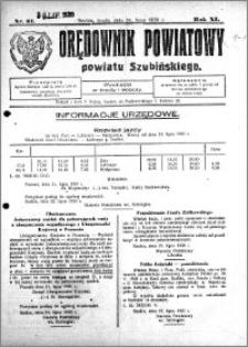 Orędownik Powiatowy powiatu Szubińskiego 1930.07.30 R.11 nr 61