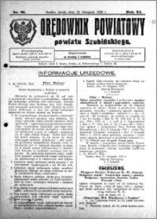 Orędownik Powiatowy powiatu Szubińskiego 1930.11.12 R.11 nr 91