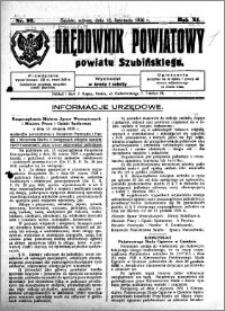 Orędownik Powiatowy powiatu Szubińskiego 1930.11.15 R.11 nr 92