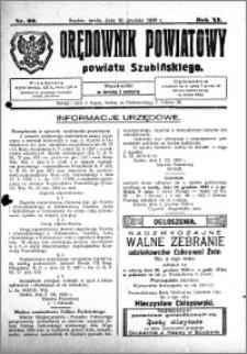 Orędownik Powiatowy powiatu Szubińskiego 1930.12.10 R.11 nr 99