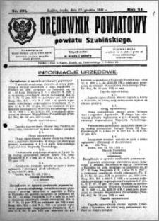 Orędownik Powiatowy powiatu Szubińskiego 1930.12.17 R.11 nr 101