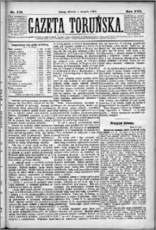 Gazeta Toruńska 1882, R. 16 nr 173