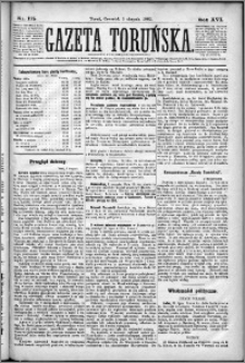 Gazeta Toruńska 1882, R. 16 nr 175