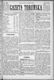 Gazeta Toruńska 1882, R. 16 nr 181
