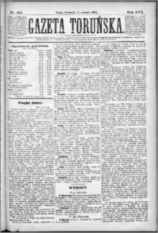 Gazeta Toruńska 1882, R. 16 nr 187