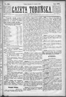 Gazeta Toruńska 1882, R. 16 nr 190