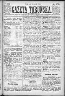 Gazeta Toruńska 1882, R. 16 nr 192