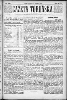 Gazeta Toruńska 1882, R. 16 nr 193