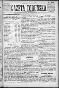 Gazeta Toruńska 1882, R. 16 nr 197