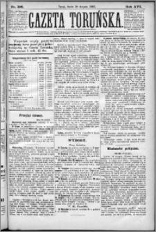 Gazeta Toruńska 1882, R. 16 nr 198