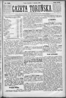 Gazeta Toruńska 1882, R. 16 nr 205