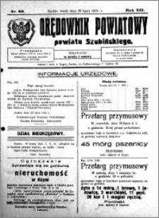 Orędownik Powiatowy powiatu Szubińskiego 1931.07.29 R.12 nr 60
