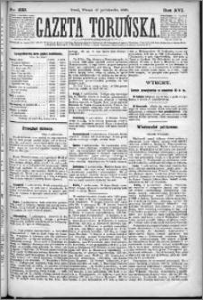 Gazeta Toruńska 1882, R. 16 nr 233