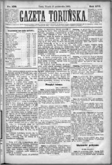 Gazeta Toruńska 1882, R. 16 nr 239