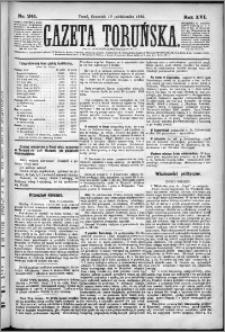 Gazeta Toruńska 1882, R. 16 nr 241
