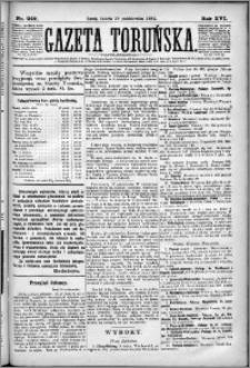 Gazeta Toruńska 1882, R. 16 nr 249