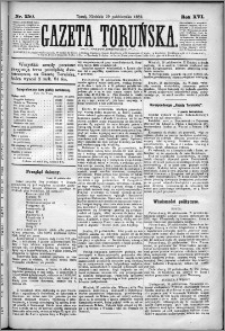 Gazeta Toruńska 1882, R. 16 nr 250