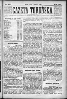 Gazeta Toruńska 1882, R. 16 nr 256
