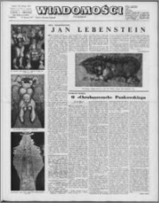Wiadomości, R. 26 nr 3 (1294), 1971