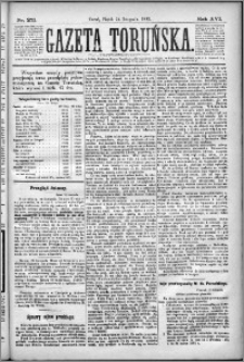 Gazeta Toruńska 1882, R. 16 nr 271