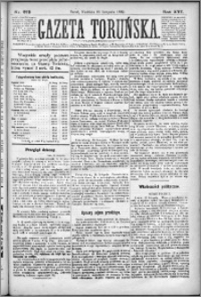 Gazeta Toruńska 1882, R. 16 nr 273