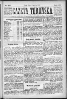 Gazeta Toruńska 1882, R. 16 nr 280