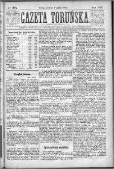 Gazeta Toruńska 1882, R. 16 nr 282