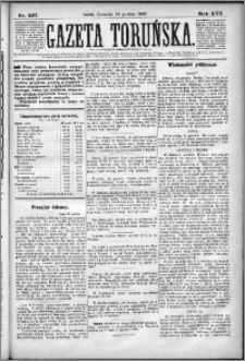 Gazeta Toruńska 1882, R. 16 nr 297