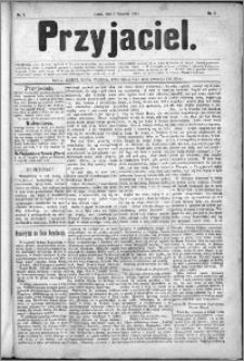 Przyjaciel : pismo dla ludu 1881 nr 1