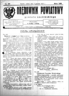 Orędownik Powiatowy powiatu Szubińskiego 1931.12.05 R.12 nr 97
