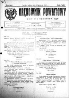 Orędownik Powiatowy powiatu Szubińskiego 1931.12.19 R.12 nr 101