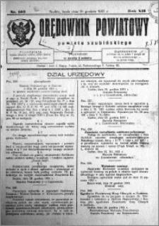 Orędownik Powiatowy powiatu Szubińskiego 1931.12.30 R.12 nr 103