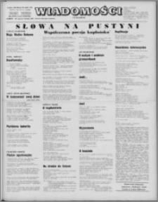 Wiadomości, R. 26 nr 13/15 (1304/1306), 1971