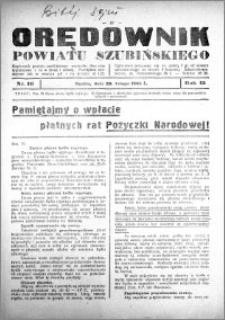 Orędownik powiatu Szubińskiego 1934.02.28 R.15 nr 16