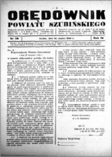Orędownik powiatu Szubińskiego 1934.03.14 R.15 nr 20