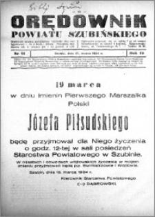 Orędownik powiatu Szubińskiego 1934.03.17 R.15 nr 21