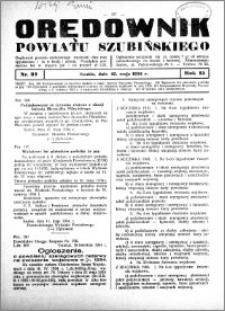 Orędownik Urzędowy powiatu Szubińskiego 1934.05.12 R.15 nr 37