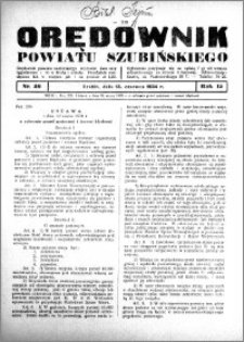 Orędownik powiatu Szubińskiego 1934.06.13 R.15 nr 46