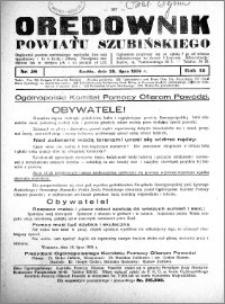 Orędownik powiatu Szubińskiego 1934.07.25 R.15 nr 58