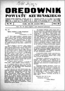 Orędownik powiatu Szubińskiego 1935.09.28 R.16 nr 77