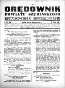 Orędownik powiatu Szubińskiego 1935.12.04 R.16 nr 96