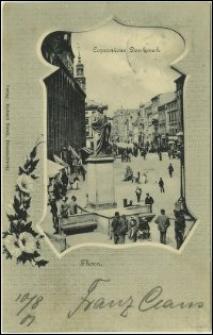 Toruń - pomnik Kopernika