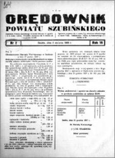 Orędownik powiatu Szubińskiego 1938.01.05 R.19 nr 2