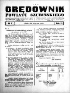 Orędownik powiatu Szubińskiego 1938.01.08 R.19 nr 3