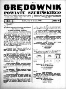 Orędownik powiatu Szubińskiego 1938.01.19 R.19 nr 6