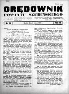 Orędownik powiatu Szubińskiego 1938.03.02 R.19 nr 18